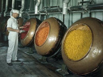 Bei der Herstellung von Jelly Beans