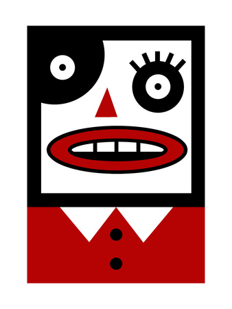 Crazy Person - Buy poster at Art.com with this link