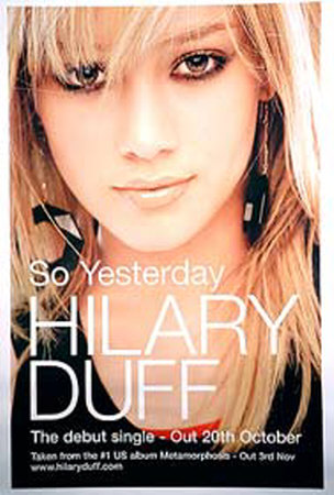 If you thought you knew film, TV and recording star Hilary Duff before, ...