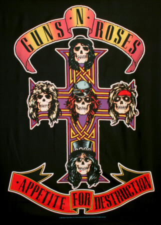 Buy Guns N Roses Appetite for Destruction at AllPosters.com