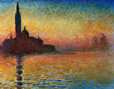 Buy Sunset In Venice at AllPosters.com