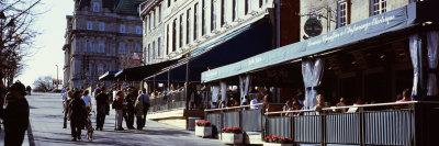 Restaurants in a Street, Place ...