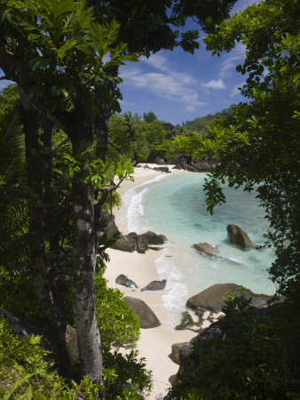 Seychelles, Mahe Island, Port Launay Marine National Park