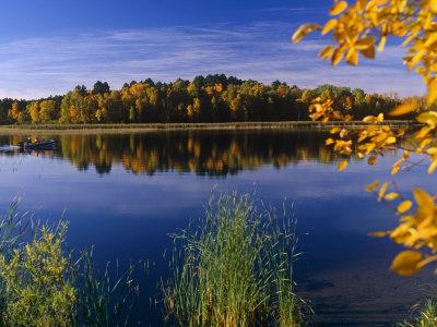 Minnesota, Lake Winnibigoshish ...