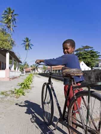 Young Boy on Ibo Island, Part of the Quirimbas Archipelago, Mozambique