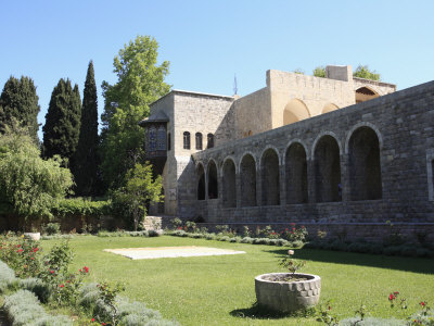 Garden, Palace of Beiteddine, Lebanon, Middle East