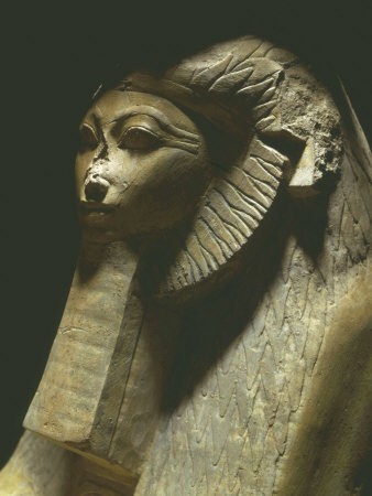 Sphinx of Hatshepsut, 1473-1458 BC, Polished Granite, 18th Dynasty