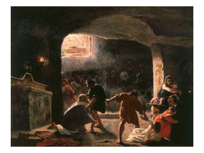 The Slaughter of the First Christians in the Catacombs