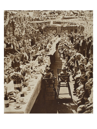Tea Party for Children For George V's Silver Jubilee