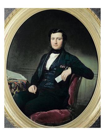 Portrait of Baron Weisweiller, 1853