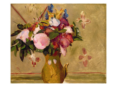 Flowers, after Cezanne