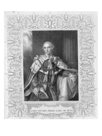 John Stuart, Third Earl of Bute, engraved by W.T. Mote