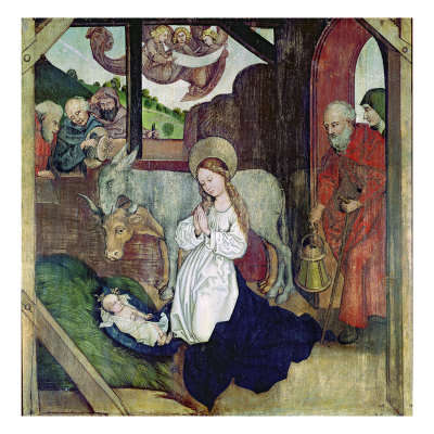 The Nativity, from the Altarpiece of the Dominicans, c.1470-80