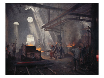 An Iron Foundry