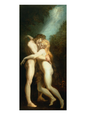 Adam and Eve, Heinrich Fuessl