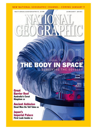 Cover of the January, 2001 Issue of National Geographic Magazine