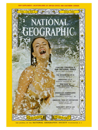Cover of the July, 1966 Issue of National Geographic Magazine