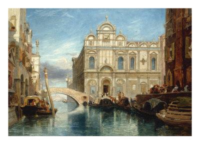 Scuola di San Marco, Venice, 1860