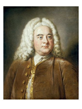 Portrait of George Frederick Handel - Buy this art print at AllPosters.com