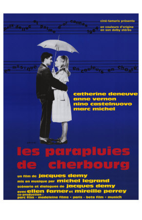 The Umbrellas of Cherbourg, French Movie Poster, 1964,