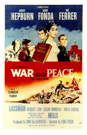 War and Peace, 1956 Premium Poster