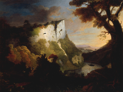 High Tor, Matlock, Derbyshire, 1756
