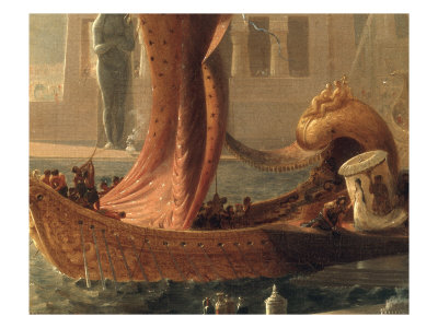 The Embarkation of Cleopatra on the Cydnus,Francis  Danby