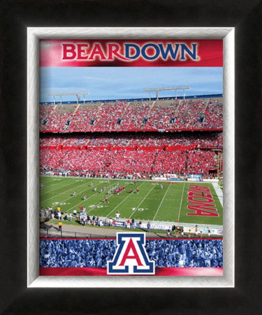 The University of Arizona-Stadium Shot Framed Photographic Print