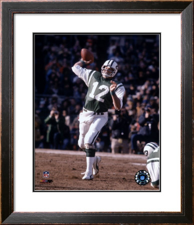 Joe Namath - Passing Action