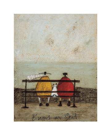 Bums on Seat Art Print