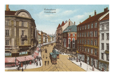 Vesterbro Street, Copenhagen, Denmark