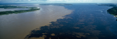 View of a River, Manaus, Amazon River, Amazonas, Brazil