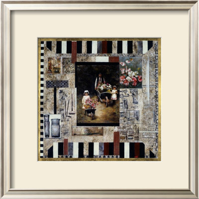 Lure of the Garden Framed Art Print