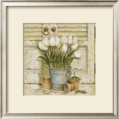 Potted Tulips II