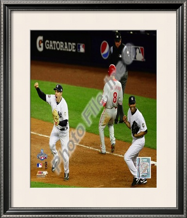 M.Teixeira & M.Rivera Game Six of the 2009 MLB World Series
