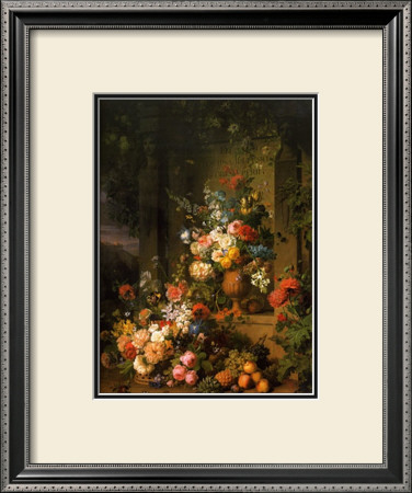 Le Tombeau de Julie, 1803-1804 Framed Art Print