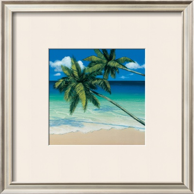 Tropical Horizon (detail) Framed Art Print