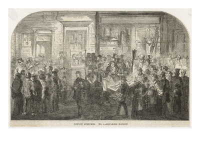 Brick Lane Market 1861