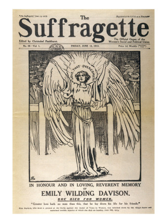 Front Cover for the Edition Dedicated to Emily Davison
