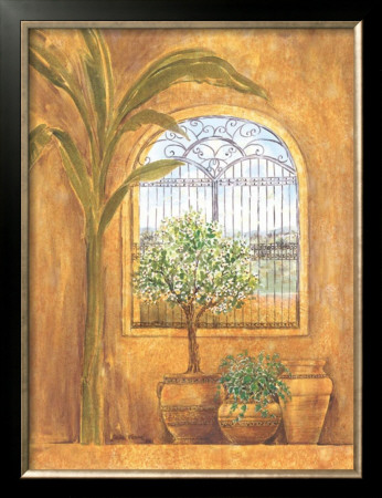 Window in the Tropics I Framed Art Print