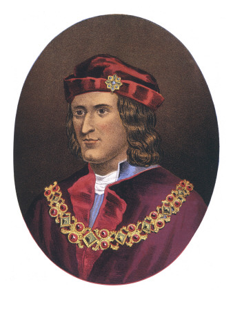 King Richard III of England Reigned 1483-1485