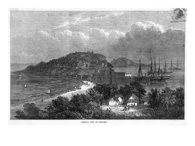 Taboga Island.