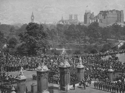 Queen Victoria's Diamond Jubilee Troops Return to Buckingham Palace
