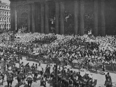 Queen Victoria Greets Crowds For Her Diamond Jubilee