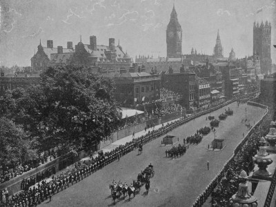 Queen Victoria's Diamond Jubilee Parade