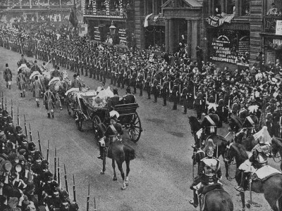 Queen Victoria's Royal Carriage in Pall Mall For Her Diamond Jubilee