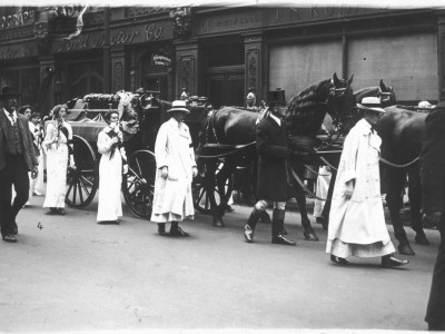 The Funeral Procession of Emily Wilding Davison