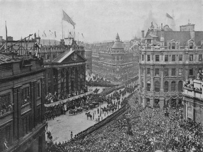 Crowds Cheer At Queen Victoria's Diamond Jubilee