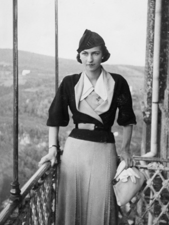 A Fashionable Woman of the 1930s