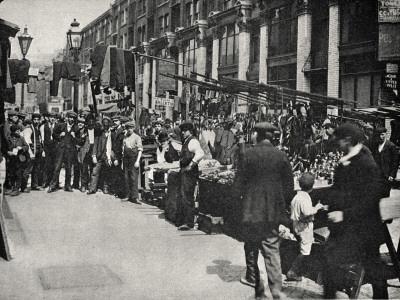 Petticoat Lane Market, East End of London